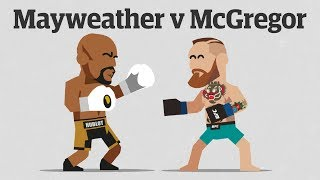 Video Mayweather v McGregor: the Money Fight explained MP3, 3GP, MP4, WEBM, AVI, FLV Februari 2019