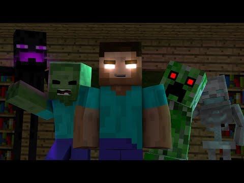 Minecraft Monster School LIVE full HD