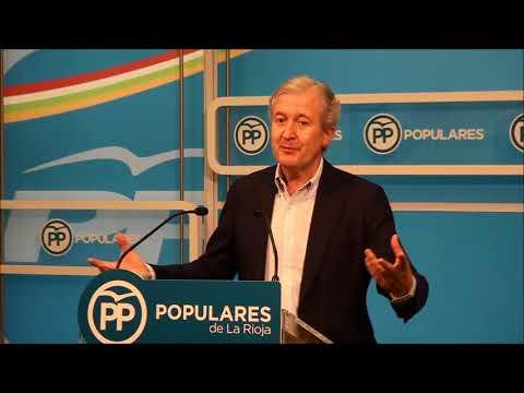 Emilio del Río analiza una iniciativa del Grupo Popular sobre plantaciones de viñedo