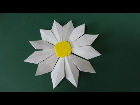 Flower Tutorial - 036 -- Marguerite