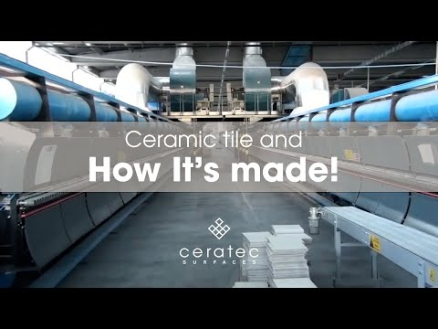 Ceramic tiles manufacturing process by Ceratec – How it's made?