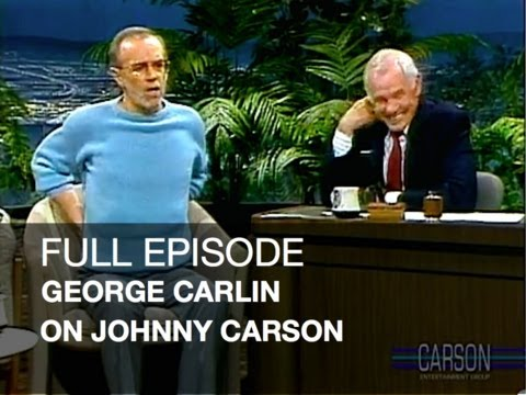 Full Episode: George Carlin Stand Up Comedy, Dog Climber, Johnny Carson's Tonight Show