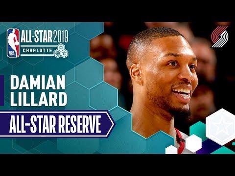 Video: Damian Lillard 2019 All-Star Reserve | 2018-19 NBA Season