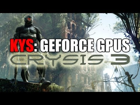 Know Your Settings: Mid-Range GeForce GPUs w/ Crysis 3