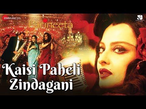 Kaisi Paheli Zindagani | Parineeta | Rekha & Sanjay Dutt | Sunidhi Chauhan