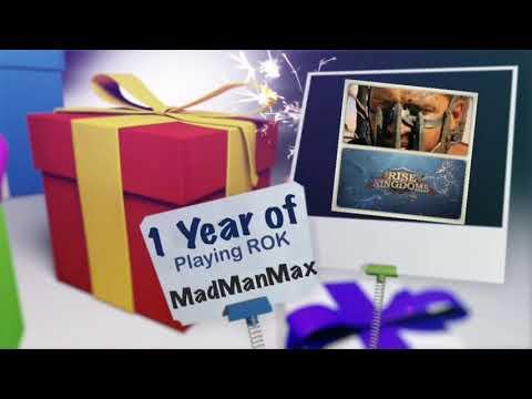 MadManMax 1 year of playing ROK