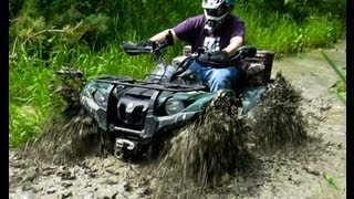 3. Yamaha Kodiak And Grizzly Find A Little Mud Near Contact Bay - June 30 2012