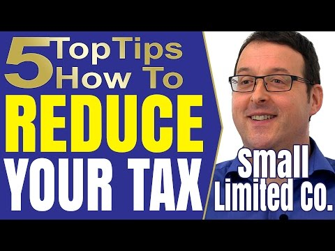 Self Assessment or Income Tax Return tax avoidance ideas for the small limited company