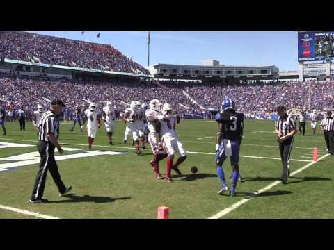 DeVante Parker 13-yard touchdown reception vs Kentucky 2013 video.