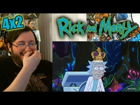 "Gors ""Rick and Morty"" Season 4: Episode 2 ""The Old Man and the Seat"" REACTION"