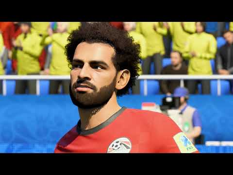 FIFA 18 World Cup: EGYPT Player Faces (PS4/XBONE) (1080p HD)