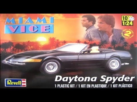 How to Build the Miami Vice Daytona Spyder 1:24