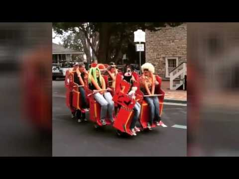 HALLOWEEN 2016: People Imitate Roller Coaster - Creative or What??  LOL! (VIDEO)