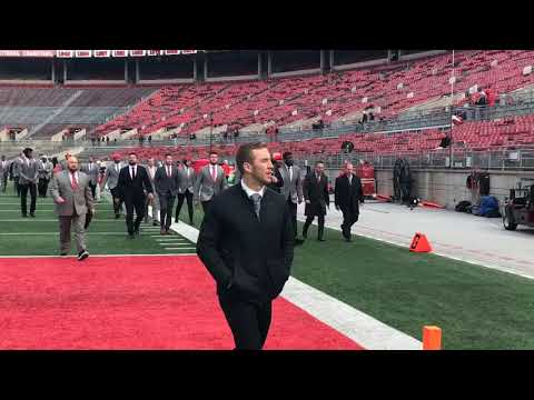 Ohio State arrives before Maryland game