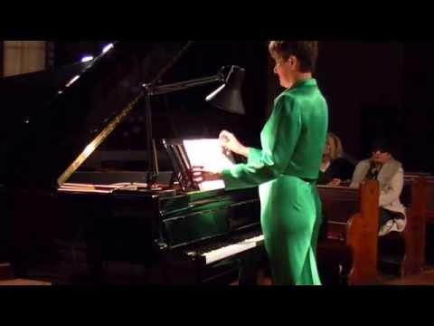 Concert Series Emmanuel Chrurch, London  Concert 1 Part 1 Maria Garzon pianist (видео)
