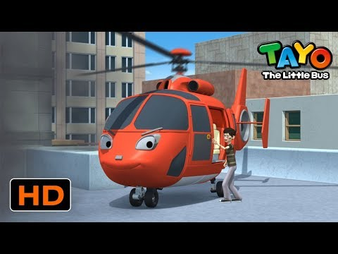 Tayo English Episodes l The New Rescue Team and the Emergency Center l Tayo the Little Bus