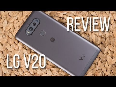 LG V20 Video Review