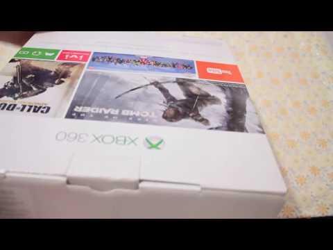 Распаковка и мини обзор нового XBOX 360 E + FORZA HORIZON 2