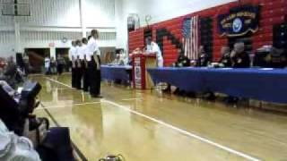 New Albany (IN) United States  City new picture : New Albany High School NJROTC Navy Core Values awards