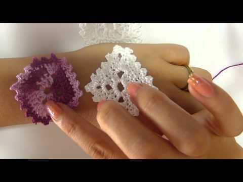 DIY tutorial orecchini uncinetto mamma e figlia a rombo handmade italian-english