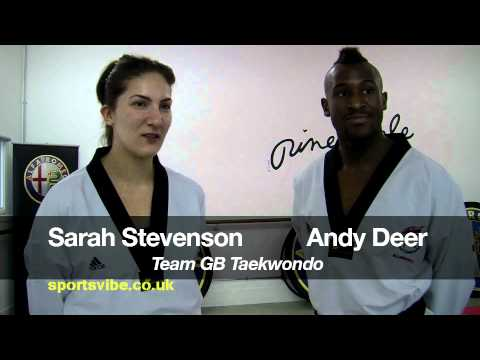 Team GB Learn Taekwando