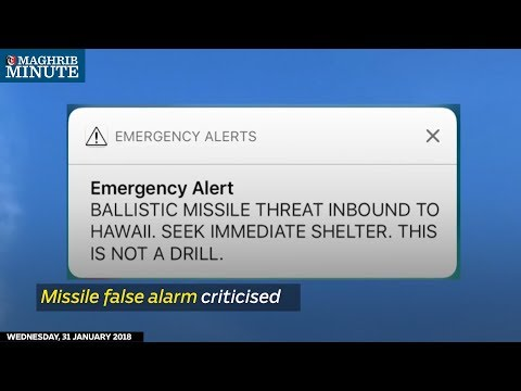 The false alarm about an incoming missile attack that terrified Hawaiians earlier this month may have been due to an employee who mistook a drill for the real deal.