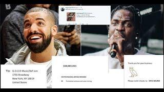 Pusha T Responds To Drake Disrespectful Diss,Tells OVO Send Invoice & Drake SENDS OVER 100K INVOICE!