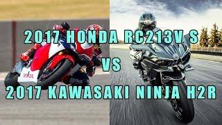 5. 2017 Honda RC213V S vs 2017 Kawasaki Ninja H2R-Specifications