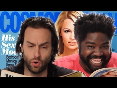 Reviewing Vintage Cosmo Dating Tips (with the Cast of Undateable)