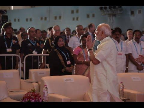 PM Shri Narendra Modi inaugurates Defence Expo 2018 in Mahabalipuram, Tamil Nadu Apr 12, 2018