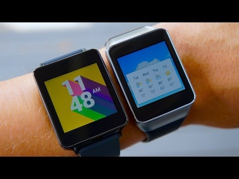 LG G Watch vs Samsung Gear Live: Android Wear Smartwatch Faceoff