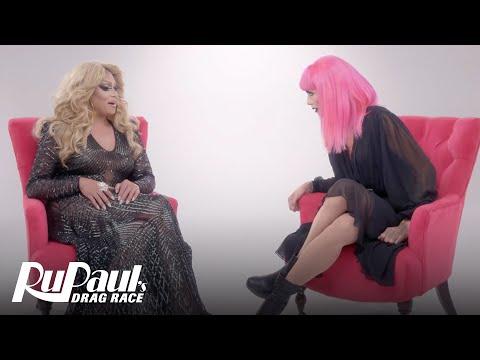 The Pit Stop S2 E4 | Raja & Mariah Balenciaga | RuPaul's Drag Race All Stars