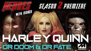 Harley Quinn, Doctor Doom, Doctor Fate & Chun-Li Street Fighter Superhero Therapy