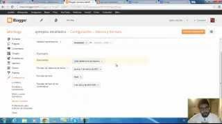 curso gratis online de Blogger 2013
