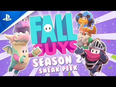 Fall Guys: Ultimate Knockout - Season 2 Sneak Peek   PS4