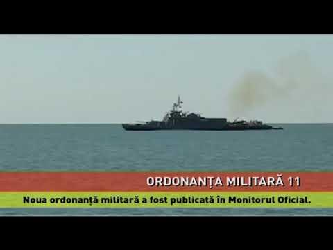 Ordonanța Militară 11, publicată în M.O.
