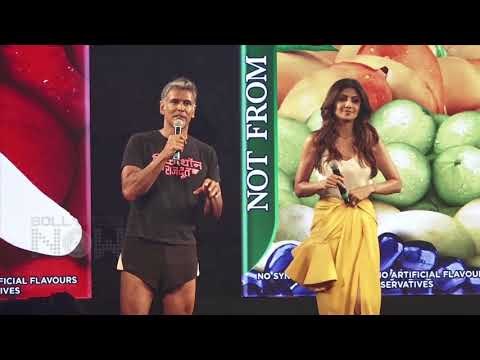 Shilpa Shetty And Milind Soman FUN MOMENTS From B