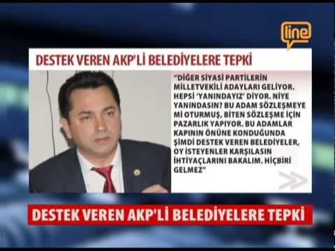 Destek Veren Ak Parti'li Belediyelere Tepki  19 Mayıs 2015