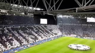 Juventus v Barcelona 3-0 Champions League anthem - 2016/17 Quarter-final
