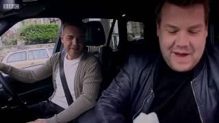 James Corden Carpool Karaoke W/ Take Thats <b>Gary Barlow</b> His Hero  Very FUNNY