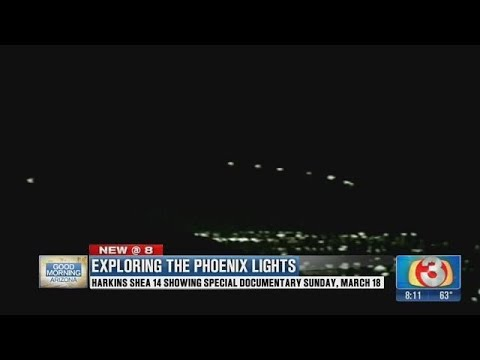 VIDEO: It's been 21 years since mysterious lights hovered over Phoenix