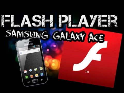 comment installer adobe flash player sur samsung galaxy y