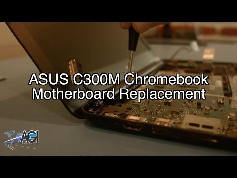 ASUS C300M Chromebook Motherboard Replacement