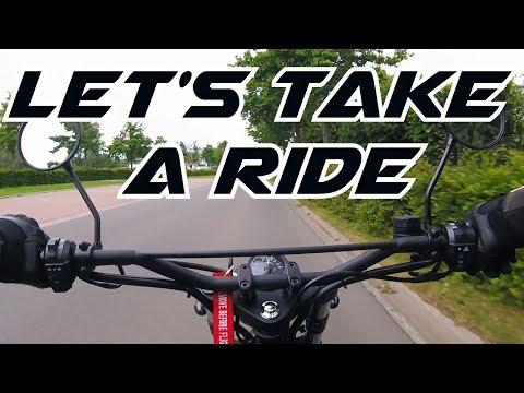 lets take a ride #1 - Brixton Felsberg 125