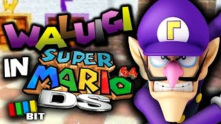 WALUIGI in Super Mario 64 DS | Mystery Bit [TetraBitGaming]