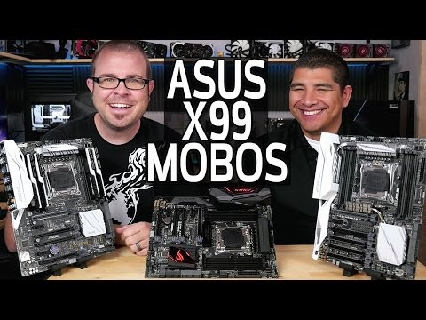New ASUS X99 Motherboards!