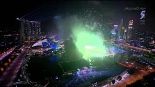 2015 New Year Countdown at Marina Floating Platform, Singapore - 01Jan2015