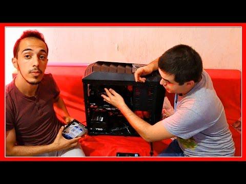 MONTAGE DE MON NOUVEAU PC GAMER !!!