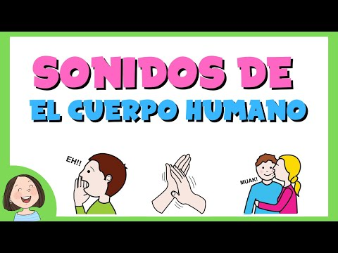 Aprendemos los sonidos producidos por el cuerpo humano.