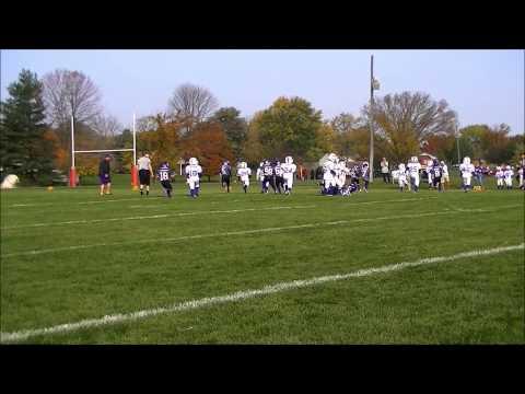 2nd Grade BJFL Football All Stars v Franklin Township Boarder Wars 2014